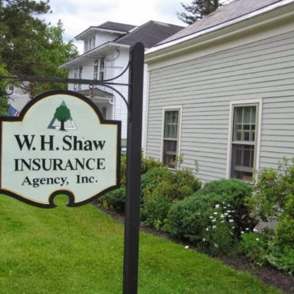 wh shaw insurance manchester vt