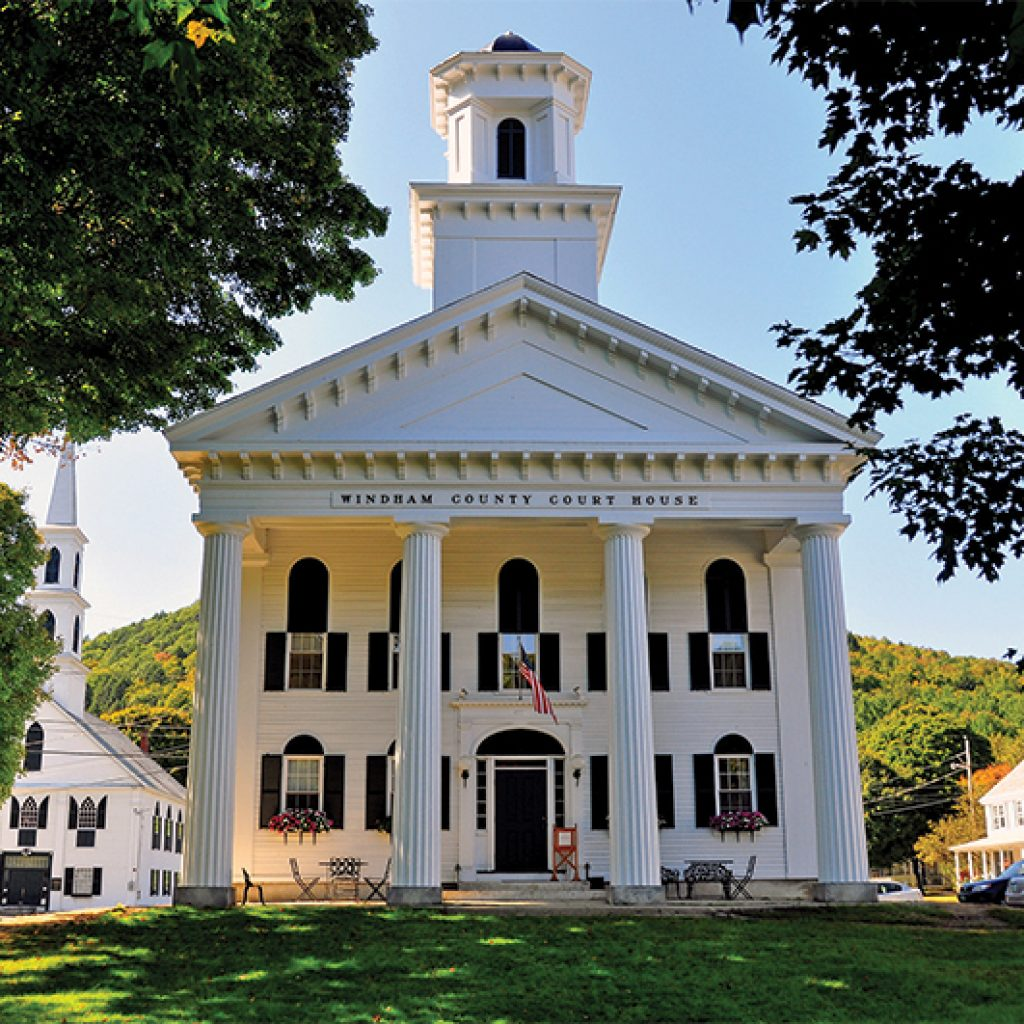 windham county court house newfane