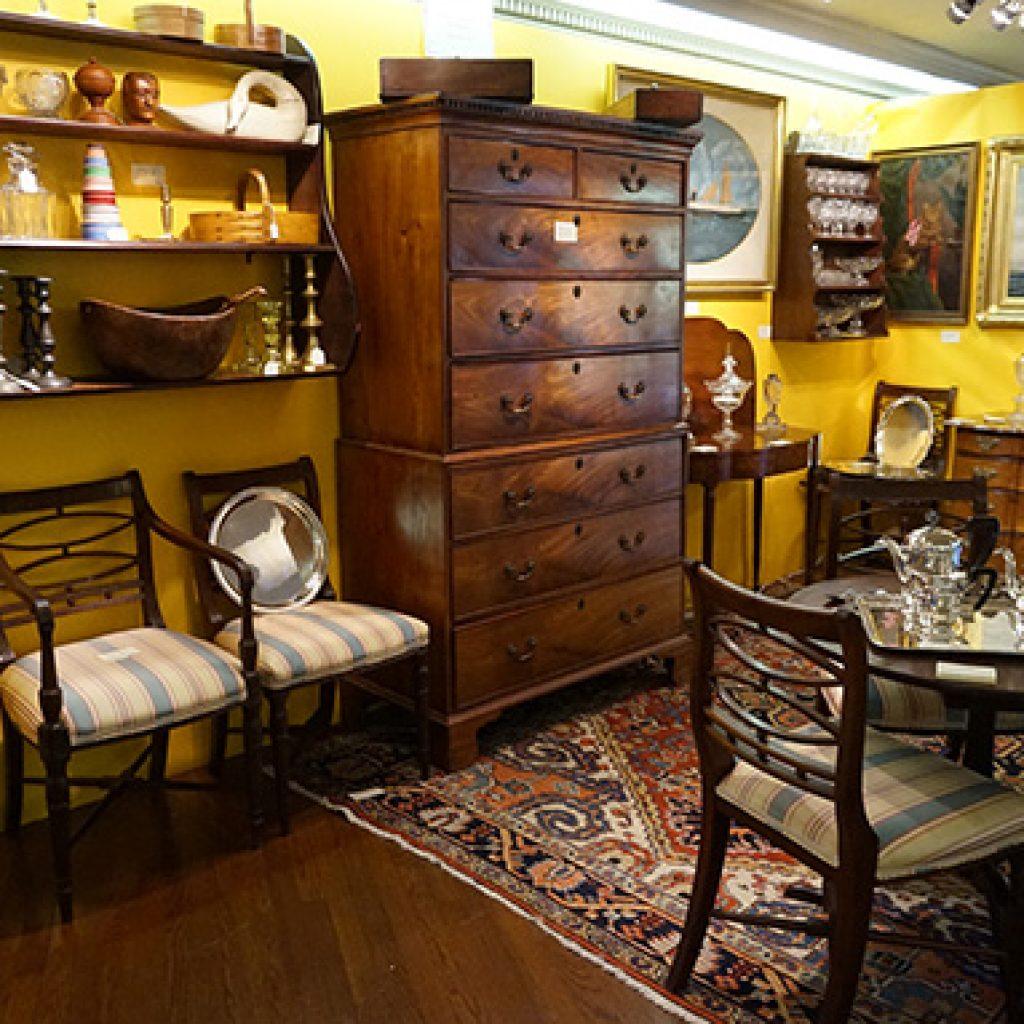 weston antiques show
